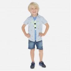Шорты джинсовые  Mayoral (Майорал) для мальчика