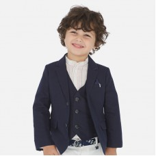 Пиджак классический Mayoral (Майорал) для мальчика синий оттенок
