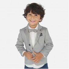 Пиджак классический Mayoral (Майорал) для мальчика серый оттенок