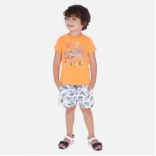 Комплект  на мальчика Mayoral (Майорал) оранжевого оттенка