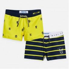 Комплект купальный для мальчика Mayoral (Майорал) желтый оттенок