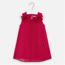 Платье на девочку Mayoral (Майорал) малинового оттенка