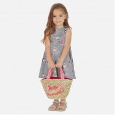 Платье полосатое Mayoral (Майорал) для девочки