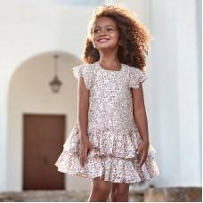 Платье Mayoral (Майорал) для девочки леопардовый принт
