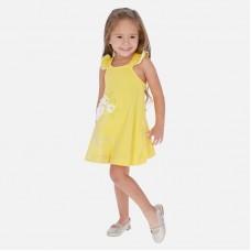 Платье Mayoral (Майорал) для девочки  желтого оттенка