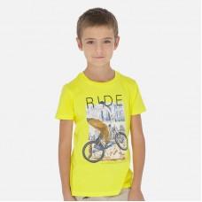 Футболка Mayoral (Майорал) для мальчика желтого оттенка