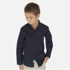 Рубашка для мальчика Mayoral (Майорал) темн-синий оттенок