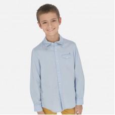 Сорочка  Mayoral (Майорал) на мальчика голубого оттенка