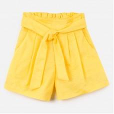 Шорты Mayoral (Майорал) для девочки желтого оттенка