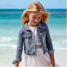 Куртка джинсовая Mayoral (Майорал) для девочки