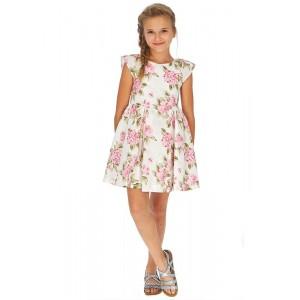 Платье  Mayoral (Майорал) для девочки розового оттенка