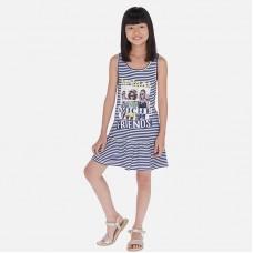 Платье Mayoral (Майорал) для девочки синего оттенка