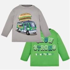 Комплект из двух  футболок для мальчика Mayoral.
