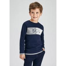 Лонгслив Mayoral (Майорал) для мальчика комбинированный оттенок