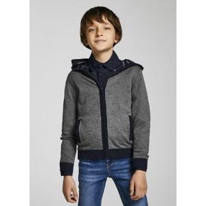 Кардиган Mayoral (Майорал) для мальчика серого оттенка