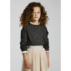 Джемпер Mayoral (Майорал) для девочки коричневого оттенка