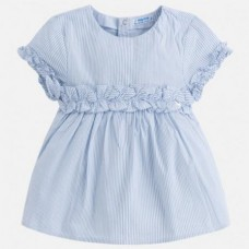 Блузка на девочку с оборками Mayoral