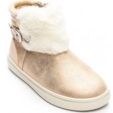 Ботинки для девочки с опушкой Mayoral.