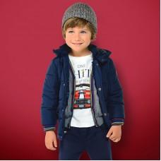 Демисезонная мягкая куртка на мальчика Mayoral