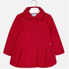 Стильное пальто для девочки Mayoral.