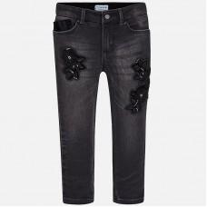Вышитые ковбойские джинсы для девочек Mayoral