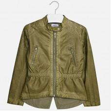 Куртка на девочку эко-кожа Mayoral.