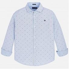 Рубашка Slim Fit с длинным рукавом для мальчика Mayoral
