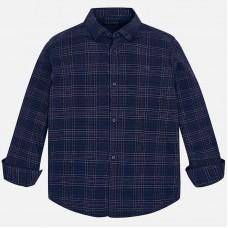 Рубашка в клетку с длинный рукав Mayoral.