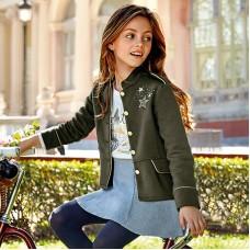 Жакет цвета хаки Mayoral для девочки.
