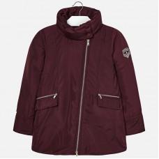 Длинная  куртка для девочки Mayoral