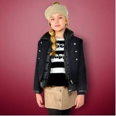 Двойная куртка-пальто для девочки Mayoral.