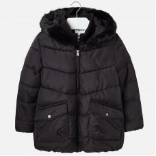 Куртка для девочки черная Mayoral