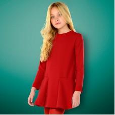 Платье Mayoral для девочки - красный цвет.