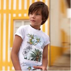 "Футболка на мальчика ""пальмы""  Mayoral"