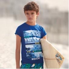 Комплект из футболкок с принтом на мальчика Mayoral