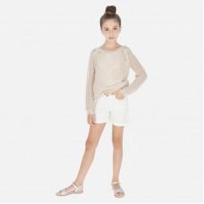 Шорты джинсовые Mayoral(Майорал) для девочки