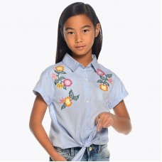 Блузка с коротким рукавом для девочки Mayoral