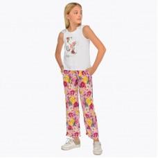 Летние брюки для девочки Mayoral.